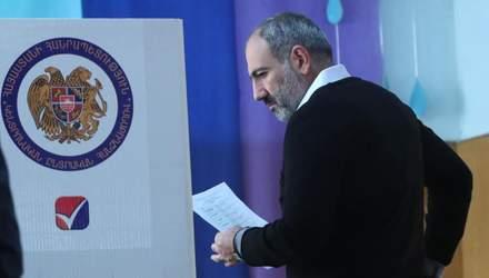 Выборы в Армении: другу Кремля Пашиняну прогнозируют 60%
