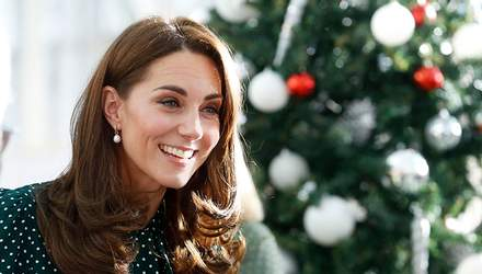 Кейт Міддлтон зачарувала стильною сукнею під час публічного виходу: фото