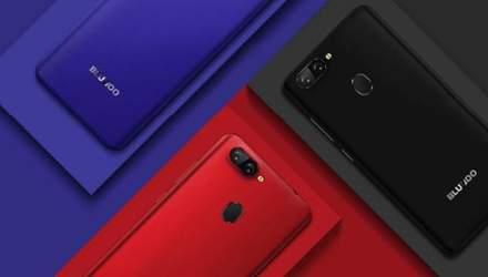 Китайцы представили смартфон Bluboo D6 Pro с двойной камерой, который стоит 80 долларов