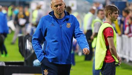 Молодежная сборная Украины по футболу может остаться без главного тренера