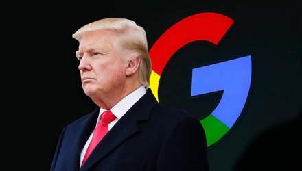 """В Google объяснили, почему на запрос """"idiot"""" поисковик показывает Трампа"""