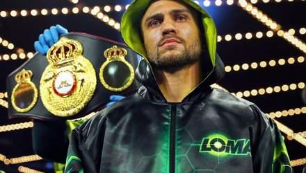 ЗМІ назвали дату повернення Василя Ломаченка на ринг