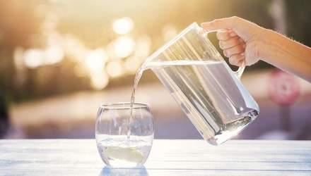 Як вода впливає на зір людини