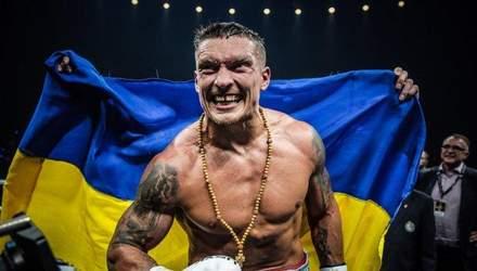 Усик визнаний найкращим боксером року за версією відомого американського журналу