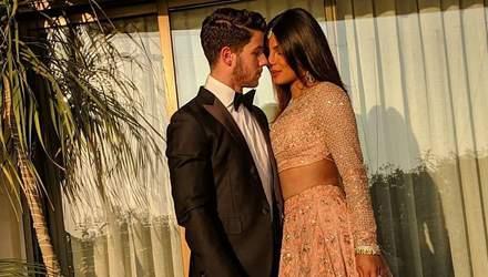 Пріянка Чопра та Нік Джонас знову гуляють на індійському весіллі: яскраві фото
