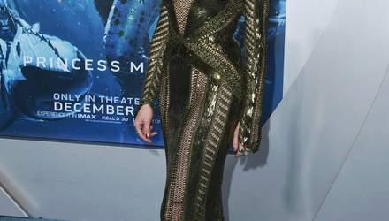 """Сексапильная Эмбер Херд пришла на премьеру фильма """"Аквамен"""" без нижнего белья: фото"""