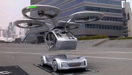 Летучее авто Pop.Up Next – автономный электрокар, способный передвигаться и по земле, и воздуху