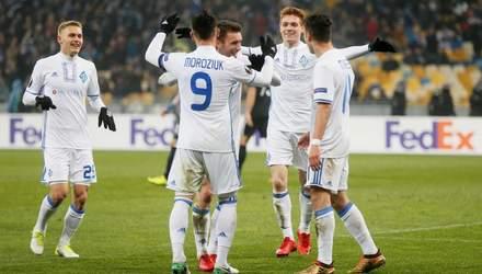 """""""Динамо"""" вылетело из топ-20 клубного рейтинга УЕФА, """"Шахтер"""" сохранил позиции"""