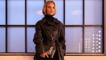 Как стильно одеться зимой: подборка образов от модели Рози Хантингтон-Уайтли