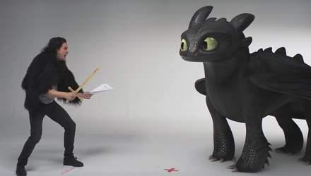 Як приборкати дракона: Кіт Харінгтон дав майстер-клас, від якого неможливо втримати сміх