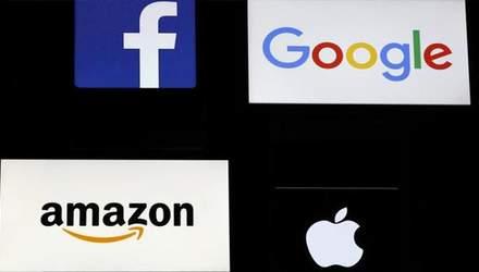 Франция хочет ввести налог для интернет-компаний Google, Facebook, Apple и Amazon