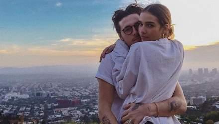 Новая любовь: Бруклин Бекхэм показал свою девушку – фото