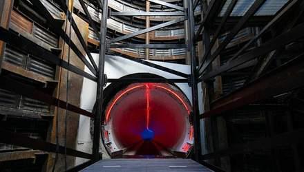 Маск протестовал первый готовый тоннель Boring Company: фото