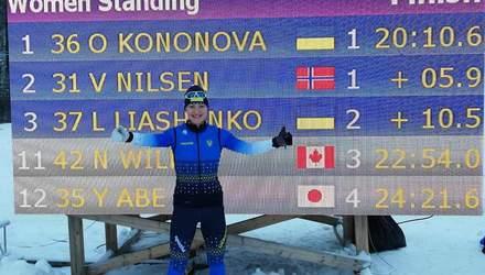 Українські паралімпійці вибороли 30 медалей на Кубку світу з лижних перегонів та біатлону