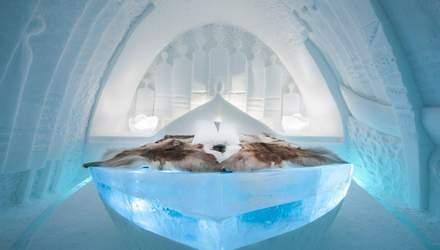 В Швеции открылся отель, полностью построенный из льда: невероятные фото изнутри