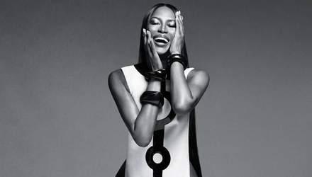 Наоми Кэмпбелл снялась топлесс для косметического бренда: сексуальные фото (18+)