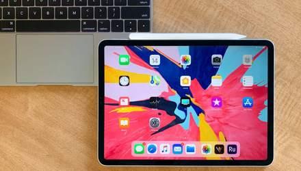 В Apple прокоментували одну із особливостей дизайну iPad Pro 2018