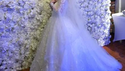 Міка Ньютон вийшла заміж: перші весільні фото
