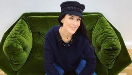 """Як стильно виглядати взимку: Маша Єфросиніна продемонструвала новий """"лук"""""""
