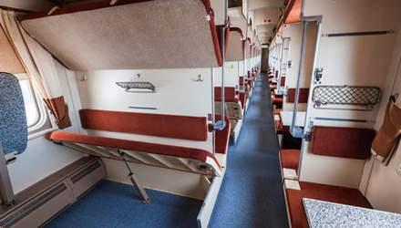 Інцидент у поїзді Київ–Рахів: на пасажирку впала верхня полиця з іншою жінкою