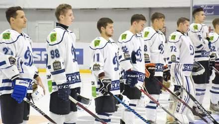 """У хокеїстів """"Динамо"""" з'явилася цікава традиція після матчу: фото"""