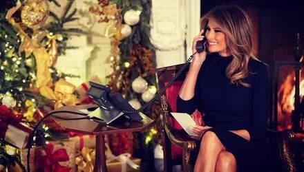 Мелания Трамп рассказала о рождественских традициях Белого дома: интересные детали