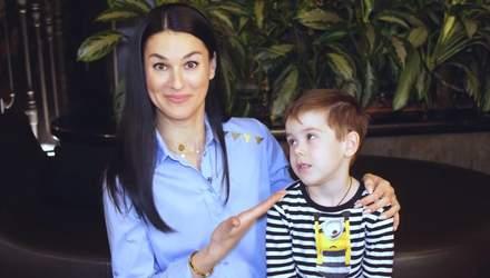"""""""Розваж себе сам"""": Маша Єфросиніна показала кумедне відео з сином"""