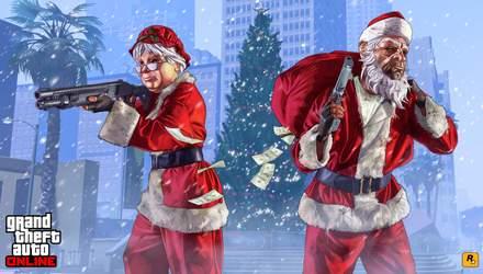 Новий рік у стилі GTA: гра отримала приємні новорічні оновлення