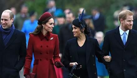 Отчужденные и скованные: о чем свидетельствуют жесты герцогов Сассекских и Кембриджских