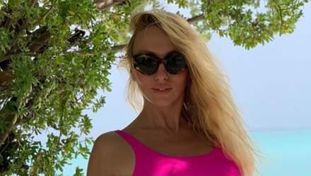 Оля Полякова призналась, что у ее мужа вызывает ревность