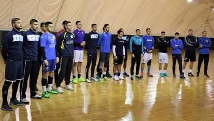 Сборная Украины по гандболу проиграла заключительный матч на товарищеском турнире