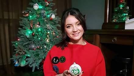 О чем мечтают украинские звезды: Оля Цибульская показала смешное новогоднее видео