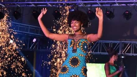 """У """"Міс Африка 2018"""" загорілась перука під час шоу: відео"""