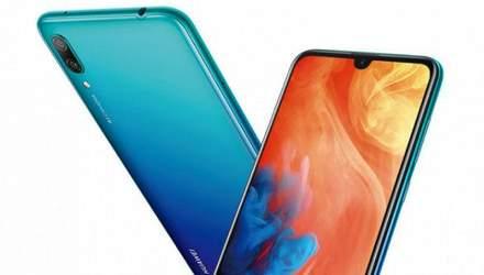 Смартфон Huawei Y7 Pro 2019 представили официально: топовый процессор и бюджетная цена