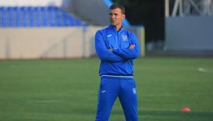 Шевченко рассказал о своем нововведении в сборной Украины