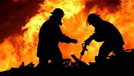 В Украине за первые двое суток нового года от пожаров погибло рекордное количество людей
