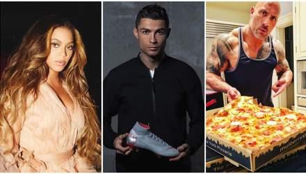От спортсменов к актерам: топ-10 самых популярных страниц в Instagram