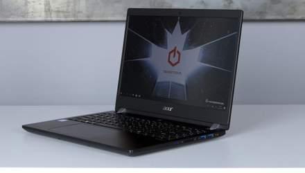 Acer TravelMate X3410: представили мощный и легкий ноутбук для путешественников