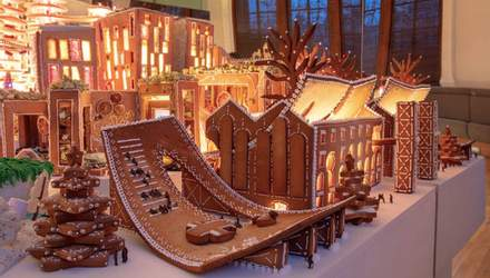 З пряників, желейок і карамелі: відомі архітектори збудували їстівне місто майбутнього