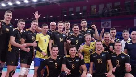 Мужская сборная Украины по волейболу установила историческое достижение