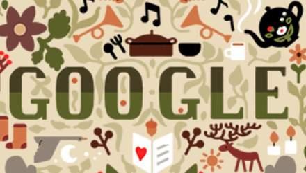 К новогодним праздникам Google показал колоритный дудл: фото
