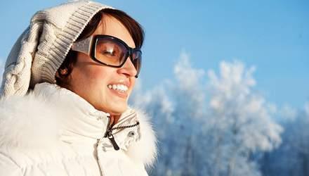 Чи потрібно носити сонцезахисні окуляри взимку