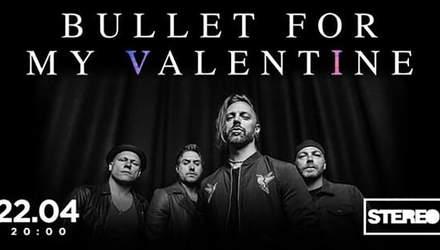 Британські металкорщики Bullet for my Valentine вперше дадуть концерт у Києві