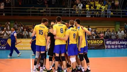 Збірна України з волейболу феноменально завершила відбір на Євро