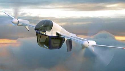 Компанія Terrafugia представила нову ідею летючого автомобіля TF-2