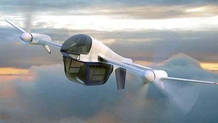 Компания Terrafugia представила новую идею летающего автомобиля TF-2