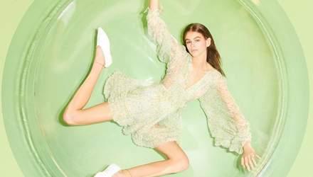Кайя Гербер знялася в рекламній кампанії Stella McCartney: оригінальні фото