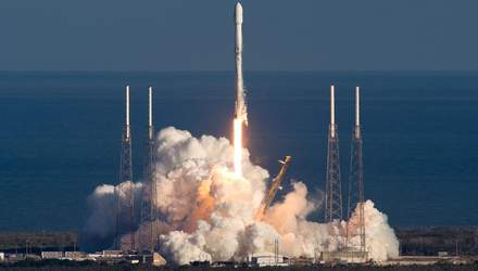 SpaceX вперше у цьому році запускає  Falcon 9: відео