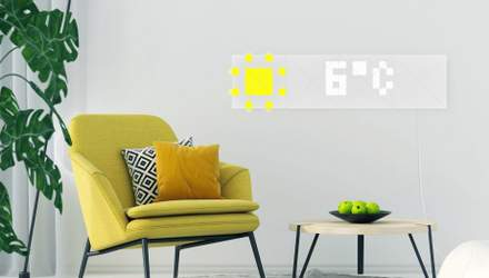 Украинцы привезли на выставку CES 2019 уникальные настенные LED-панели