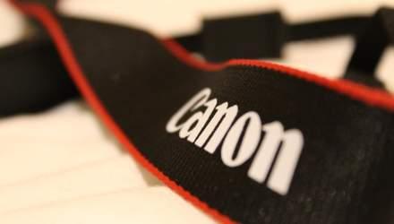 Canon працює над камерою, що зможе знімати відео 8K